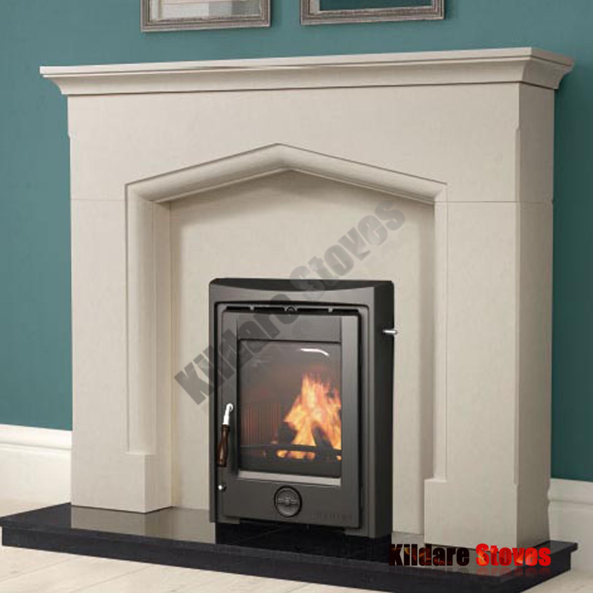 Henley Stoves Apollo 7kw Black Enamel Kildare Stoves