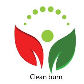 Clean burn logo