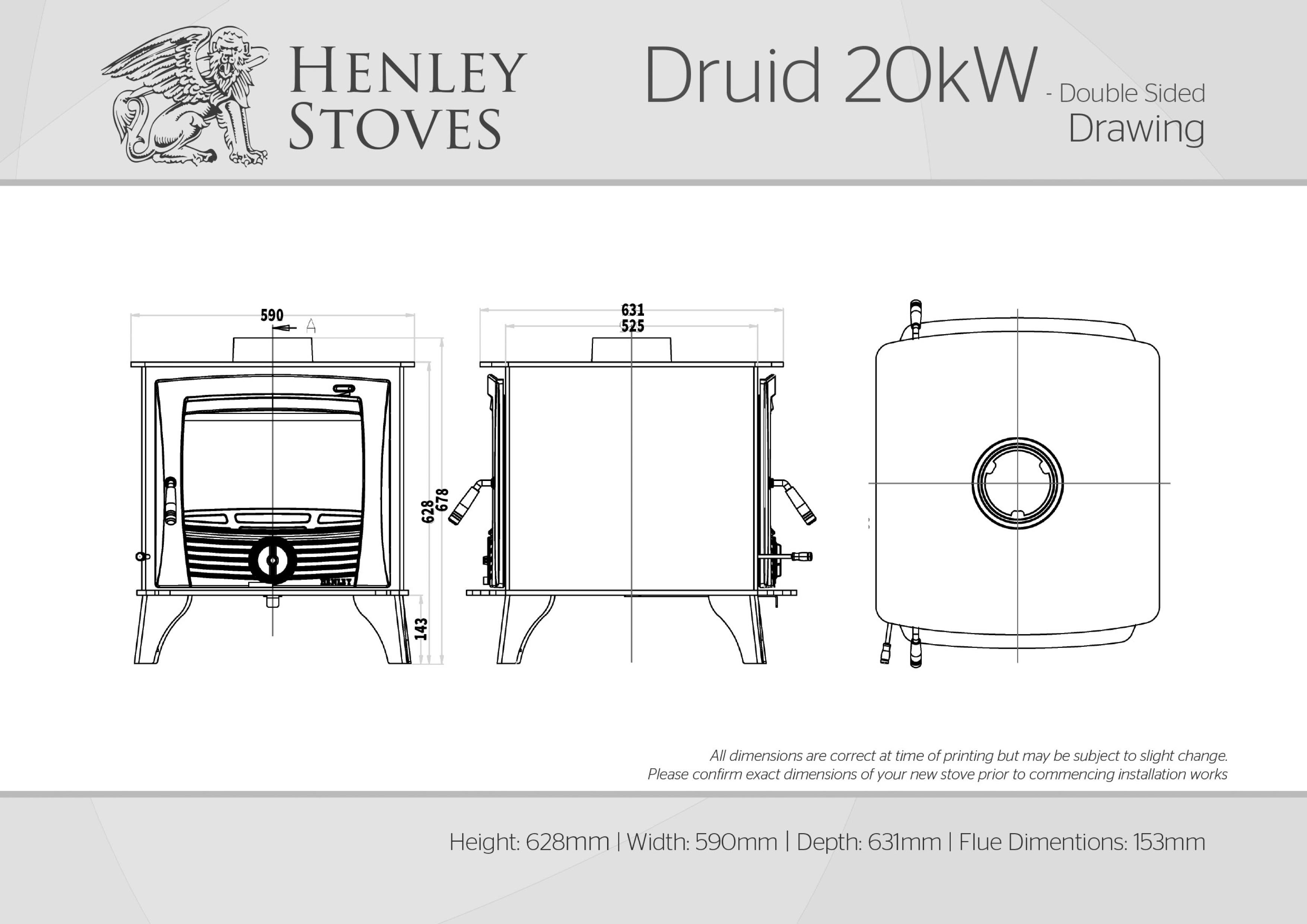 Ds Stoves Diagram Block And Schematic Diagrams Wiring Henley Druid 20kw Double Sided Kildare Ireland Rh Kildarestoves Ie Afterburner Circulator