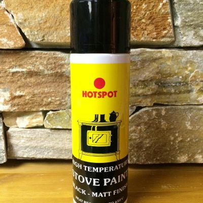 kildarestoves Black heat resistant spray