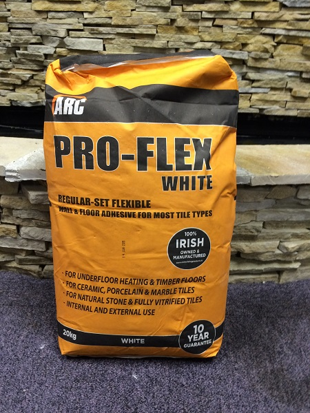 kildarestoves Adhesive PRO-FLEX 20kg bag