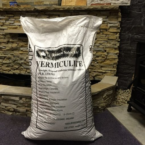 Vermiculite 100l Fireproof Insulation Kildare Stoves