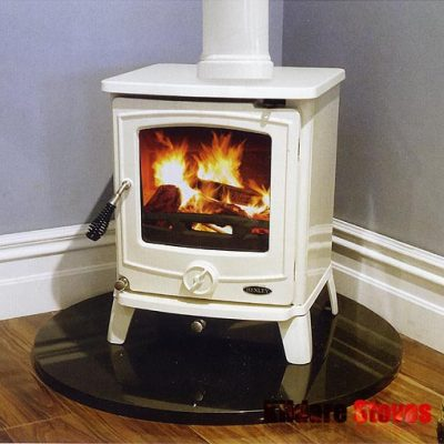 Quarter Circle Glass Hearth - Glass Hearths - Kildare Stoves Ireland
