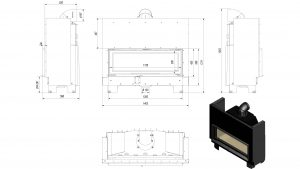 drawing MB 120 lift up glass