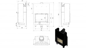 drawing MBO 15kw lift up glass